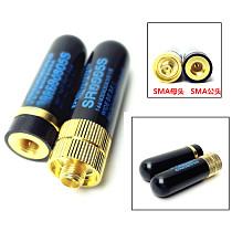 Walkie Talkie Antenna SRH-805S 4.5CM Ultra Short Mini UV Double Band Small Antenna SMA Female For Baofeng BF-UV5R