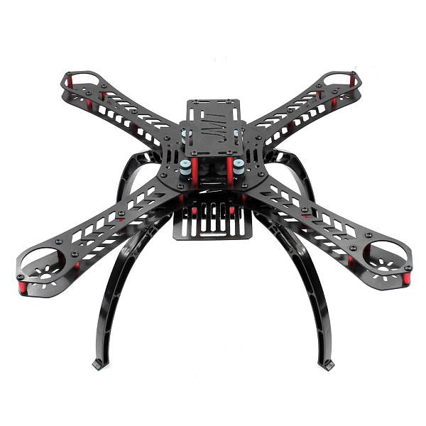 X4 310 mm Wheelbase FiberGlass Alien Across Mini Quadcopter Frame Kit DIY RC Multicopter FPV Drone