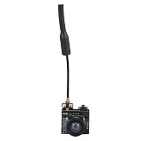 FPV AIO Micro Camera 5.8G 25MW 40CH 800TVL Transmitter LST-S2+ FPV Camera w/ OSD