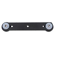 Universal Camera Tripod Dual Flash Speedlite Light Bracket Mount Holder with 1/4 Screw for Canon 7DII 70D DSLR Camera Camcorder