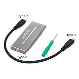 XT-XINTE USB3.1 TO PCI-E NVNE NGFF SSD Hard Disk Case USB3.1 Type-C To NVMe M.2 HDD Enclosure