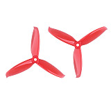 GEMFAN 2 Pairs/ 4 Pairs Windancer 5042 5x4.2 Inch PC 3-Blade Propeller Props 5mm Mounting Hole 2 CW 2 CCW For RC Quadcopter Drone Models