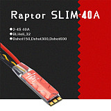 4PCS Flycolor Raptor SLIM 40A 2-4S ESC Brushless Speed Controller BLHeli-S Dshot for RC Racing Quadcopter