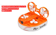 KINGKONG LDARC TINY Q PNP Hovercraft Drift Car FPV Air Boat Remote Control Toy Car Kit 800TVL Camera F3 Flight Controller