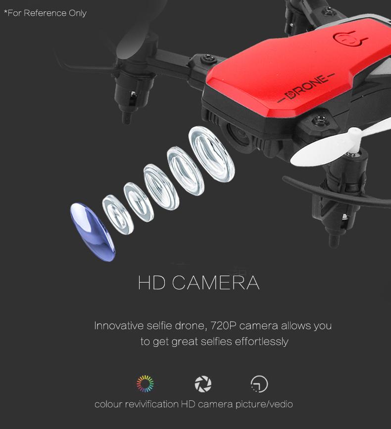8810 Mini Drone avec caméra de contrôle Radio micro poche Quadricopter kids jouets de maintien d/'altitude
