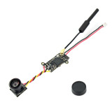 JMT FPV Split Camera 1/4 5inch CMOS Image Sensor 700TVL NTSC 25MW 48CH for FPV Racing Drone Quadcopter Aircraft