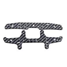 1.5mm Silver Carbon Fiber Front and Rear Sliding Damper for 2013 DIY TAMIYA Mini 4WD Model Spare Parts