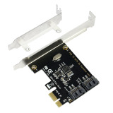 PCIE PCI Express to SATA3.0 2-Port SATA III 6G Expansion Controller Adapter Card