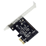 PCI-E Adapter Card PCI Express to SATA3.0 2-Port SATA III 6G Expansion Controller Card Adapter