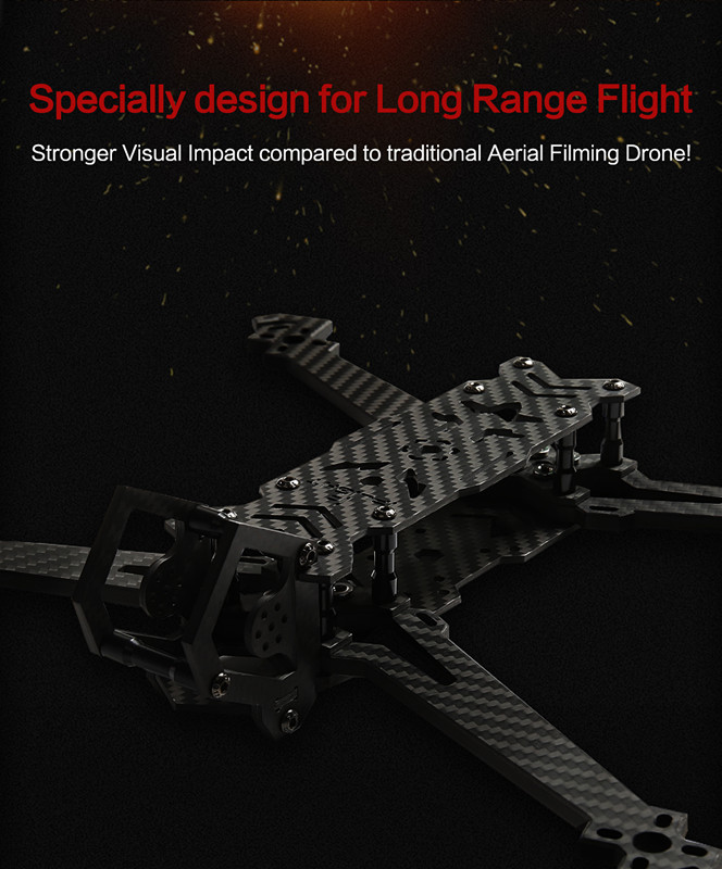IFlight HL7 FPV Frame Long Range for DIY RC Racer  FPV Racing Drone 296mm 7 Inch