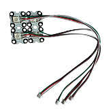 MJX Bugs 3 Pro B3PRO RC Drone Quadcopter Spare Parts Front and Rear Light Bar