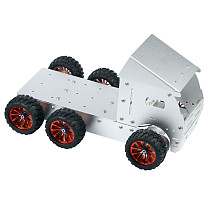 Car Tank Chassis Model Unassembled Kit DIY Bulldozer Tractor Forklift Dump Truck Construction / Engineering Vehicles Models Toys