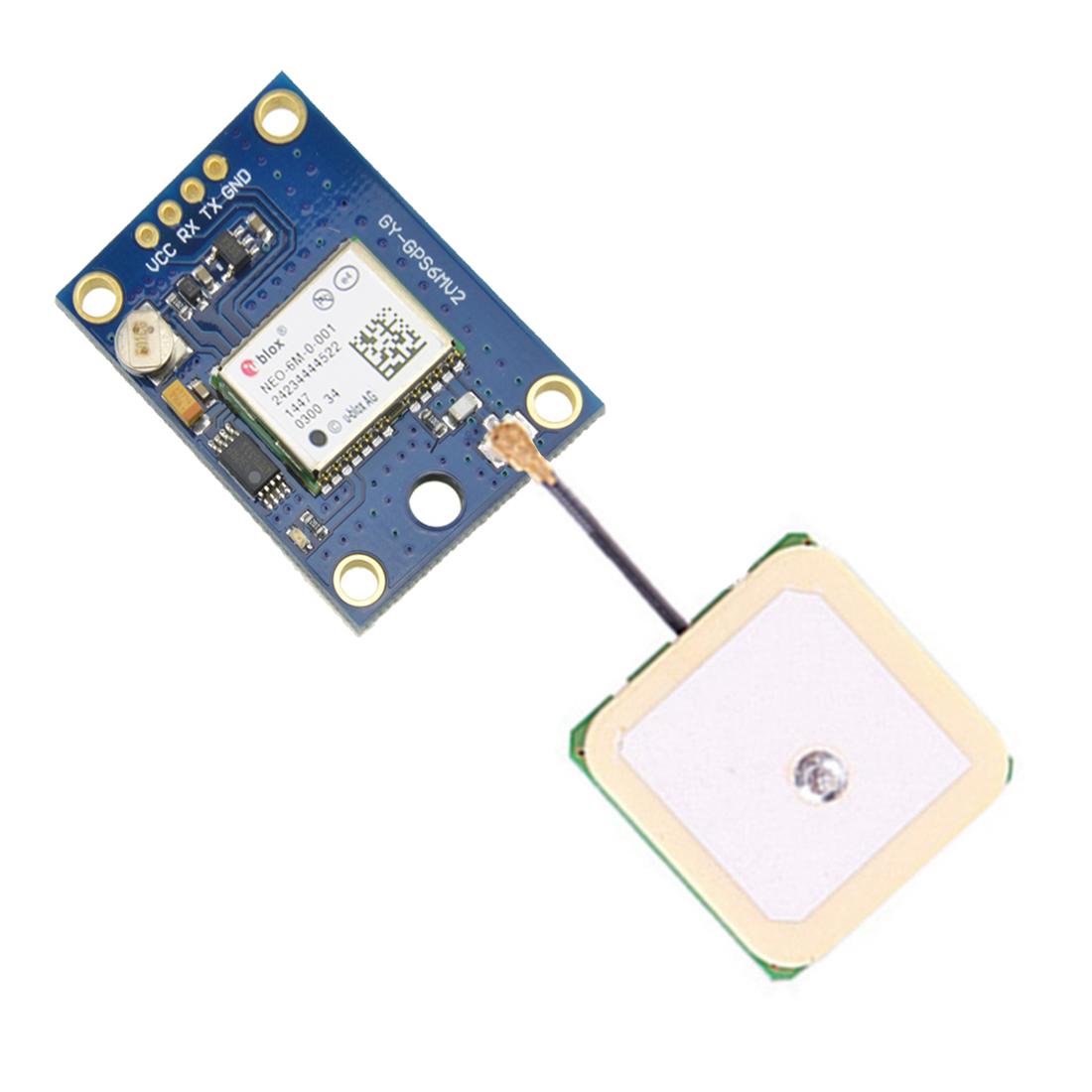 Neu Ublox NEO-6M GPS Module Aircraft Flight Controller für Arduino MWC IMU APM2