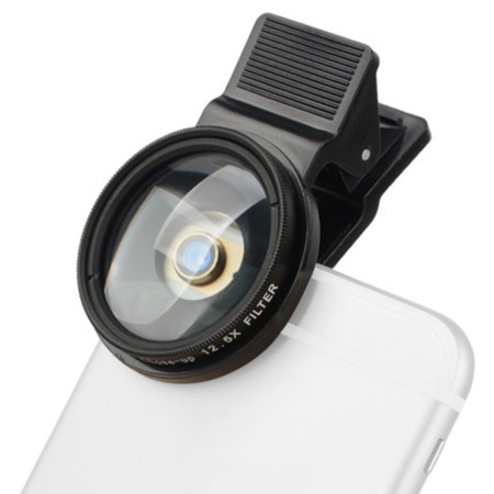 ZOMEI Professional 37mm 12.5x Close Up Filters Phone Filter Lens for iPhone/Huawei/Samsung/Xiaomi/HTC/LG Mobile Cellphone