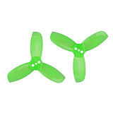4 Pairs Gemfan Hulkie 1940 1.9x4.0 PC 3-blade Propeller Prop Blade CW CCW for 1104 1105 Motor for RC Racer Racing Drone