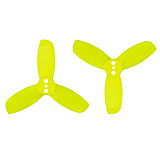 20 Pairs Gemfan Hulkie 1940 1.9x4.0 PC 3-blade Propeller Prop Blade CW CCW for 1104 1105 Motor for RC Racer Racing Drone