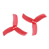4Pairs Gemfan 2040 2.0X4.0 PC 3-blade Propeller 2 Inch Prop 3-hole Blades for 1103 1104 Motor for RC Racer Racing Drone Quadcopter