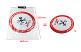 LDARC 250mm Parking Apron Foldable Landing Pad / 500mm Arch Racing Air Gate for Practicing Outdoor Tiny GT7 GT8 FPV Drone Racing