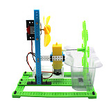 Feichao DIY Bubble Machine Homemade Electric Toy Science Experiment Kit Manual Assembly