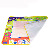 Feichao 80*60cm Baby Kids Water Magic Pen Doodle Painting Picture Drawing Writing Play Mat Toys Board Gifts Christmas Early Education