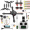 JMT 300mm 2.4G 6CH RC Quadcopter ARF RTF BNF DIY Brushless FPV Drone Combo Radiolink Mini PIX GPS & Camera 700TVL 5.8G Transmitter