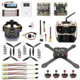 JMT Pro SP Racing F3 300mm 2.4G 10CH FPV RC Quadcopter ARF RTF DIY Combo Carbon Fiber Brushless Camera Drone 700TVL with FPV Goggles