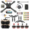 JMT 300mm 2.4G 10CH RC Quadcopter Drone ARF RTF PNP DIY Combo Kit Brushless Drone GPS APM 2.8 with 3DR 433 Radio Telemetry 500MW OTG