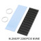 XT-XINTE Upgraded Heatsink Cooler Heat Sink Cool Fin Thermal Conductive Adhesive for M.2 NGFF 2280 PCI-E NVME SSD 70*22mm Thickness 3/6mm