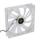 XT-XINTE 12cm Portable PC Computer Cooler 12V DC Brushless Cooling Fan 2.54P / 3P/ Large 4P Connector CPU Case Cooler Fan