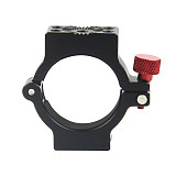 BGNING New 4-Ring Hot Shoe Adapter Ring Microphone Mount for Zhiyun Smooth 4 Handle Gimbal Applied to Rode Microphone LED Video Light