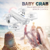 JJRC H63 Baby Crab 2.4G Gravity Sensor Altitude Hold Headless Mode Mini Aircraft RC Drone Quadcopter RTF White Toy Gift
