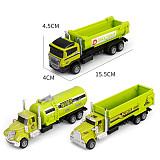 FEICHAO 1:18 Scale Diecast Scooter Alloy Metal Construction Engineering Vehicle Car Toy for Kids