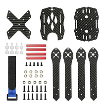 JMT Durability 3K Full Carbon Fiber 300mm Frame Kit True X Quadcopter with 4mm Arm for DIY Freestyle RC FPV Racing Drone Parts