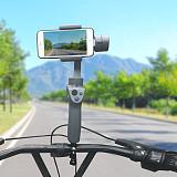 BGNING Bike Mount Bicycle Bracket Holder Clip Rotating Accessories for DJI OSMO Mobile 2 Handheld Gimbal Stabilizer SJCAM XIAOYI Camera