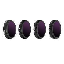 Sunnylife ND8-PL ND16-PL ND32-PL ND64-PL Lens Filter for DJI MAVIC 2 ZOOM FPV Drone 4pcs/set M2Z-FI288