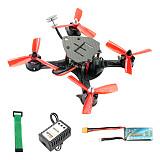 JMT DIY FPV Racing Drone Quadcopter PNP F4 Pro V2 Flight Control 180mm Carbon Fiber Frame with 700TVL Camera No TX RX