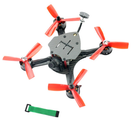 JMT DIY FPV Racing Drone Quadcopter PNP F4 Pro V2 Flight Control 180mm Carbon Fiber Frame with 700TVL Camera No TX RX No Battery