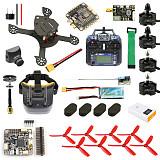 JMT DIY FPV Racing Drone Quadcopter RTF F4 Pro V2 Flight Control 180mm Carbon Fiber Frame  Full Set with FPV Goggles