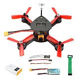 JMT DIY FPV Racing Drone Quadcopter F4 Pro V2 Flight Control 180mm Carbon Fiber Frame with RunCam Micro Swift 3 Camera BNF No TX