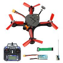 JMT DIY FPV Racing Drone Quadcopter RTF F4 Pro V2 Flight Control 180mm Carbon Fiber Frame with RunCam Micro Swift 3 Camera