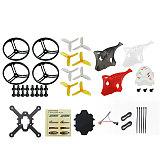 LDARC ET100 ET125 V2 ET115 3S KIT Frame Props Propeller Guard Canopy for FPV Racing Drone Quadcopter
