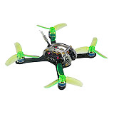 LDARC Flyegg 130 V2 Micro Mini Brushless FPV Racing Drone Quadcopter BNF/PNP 100mW VTX Camera OSD