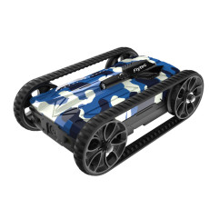 Flytec Fall-Resistant Alloy Remote Control Tank with LED Night Light RC Toys for Children