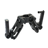 Universal Handheld Gyroscope Stabilizer Spring 5-axis Shock Absorber with 7 Inch Articulating Magic Arm Bracket For SLR Camera