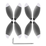 SHENSTAR 4 Pairs Foldable 4K Propeller Props Aerial Paddle with Screw Wrench For Parrot ANAFI FPV Drone Quadcopter