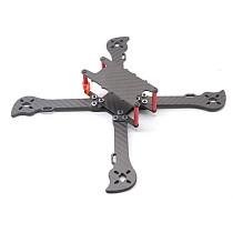 JMT XL224 224MM Frame Kit for RC Quadcopter 3K Carbon Fiber Frame Kit 4mm Arm For FPV Racer Drone Accessories
