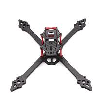 FPV Racing Drone XSR220 220mm Frame Kit 3K Carbon Fiber Frame Kit 4mm Arm for RC Racer Quadcopter
