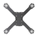 JMT X210 210mm Carbon Fiber Frame Kit With PDB Board X Type Frame for FPV Quadcopter RC Racing Drone Spare Parts