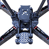 JMT Carbon Fiber 450 450mm Quadcopter Frame kit w/ Carbon fiber Landing Gear fit for 2 axis/3 axis Gimbal FPV Drone Quadcopter