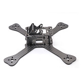JMT TX5-210 3K Carbon Fiber Frame Kit 210mm Frame with PDB Board 4mm Arm for FPV Racer Drone RC Quadcopter 4mm Frame Arm